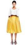 Pleated Hip Wrap Skirt by DELPOZO for Preorder on Moda Operandi