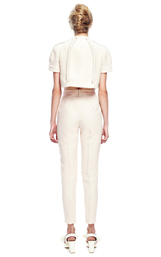 Braided Pant by DELPOZO for Preorder on Moda Operandi