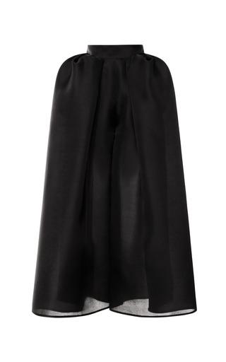 Medium delpozo black pleated hip pant