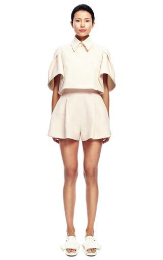Pleated Short by DELPOZO for Preorder on Moda Operandi