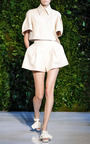 Pleated Short by DELPOZO for Preorder on Moda Operandi