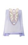 Embellished Patch Bib Top by DELPOZO for Preorder on Moda Operandi