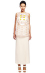 Embellished Patch Tunic Top by DELPOZO for Preorder on Moda Operandi