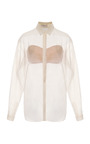 Braided Placket Shirt by DELPOZO for Preorder on Moda Operandi