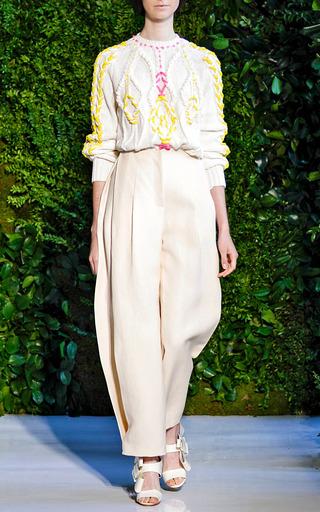 Long Sleeve Knit by DELPOZO for Preorder on Moda Operandi
