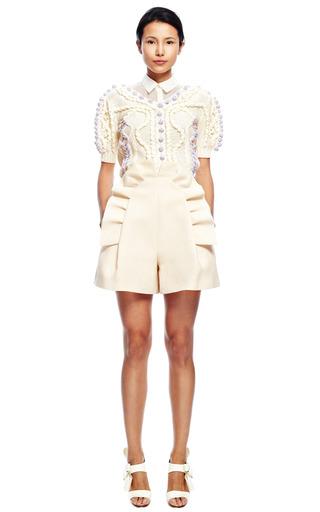 Short Sleeve Knit by DELPOZO for Preorder on Moda Operandi