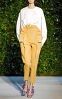 Bow Slingback Sandal by DELPOZO for Preorder on Moda Operandi