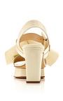 Bow Slingback Low Heel Sandal by DELPOZO for Preorder on Moda Operandi