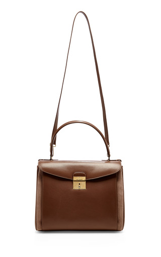 Metropolitan Leather And Suede Shoulder Bag by MARC JACOBS Now Available on Moda Operandi