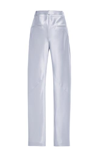 Doubleface Satin Bias Seam Trousers by THAKOON for Preorder on Moda Operandi