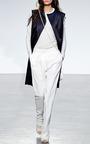 Doubleface Satin Vest by THAKOON for Preorder on Moda Operandi
