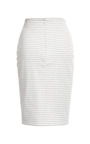 Striped Ponte Knit Pencil Skirt by THAKOON for Preorder on Moda Operandi