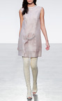 Silk Gauze Jeweled Shift Dress by THAKOON for Preorder on Moda Operandi