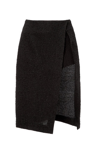 Jacquard Wrap Effect Skirt by THAKOON for Preorder on Moda Operandi