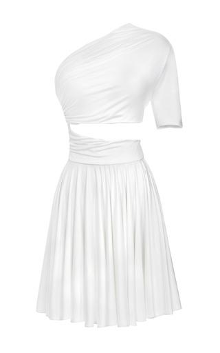 Medium cushnie et ochs white dondi jersey one shoulder dress
