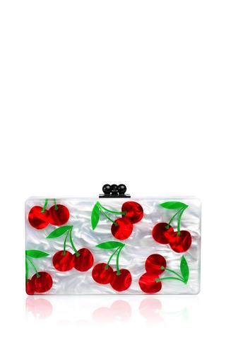 Medium edie parker white jean cherries