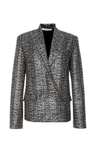 Medium rodarte multi metallic tweed jacket