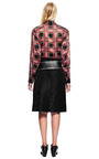 Black Silk Brocade Leopard Skirt by RODARTE for Preorder on Moda Operandi