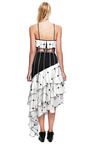 Plaid Tiered Ruffle V Neck Dress by RODARTE for Preorder on Moda Operandi