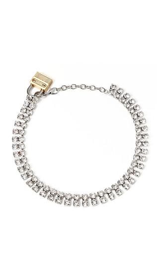 Swarovski Elements Double Cupchain Necklace by RODARTE for Preorder on Moda Operandi