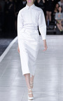 Cotton Shirtdress With Cutout Back by PRABAL GURUNG for Preorder on Moda Operandi
