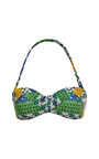 Tresse Printed Halter Top by AGUA DE COCO Now Available on Moda Operandi