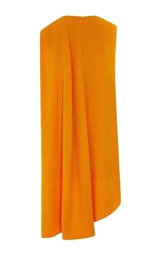 Orange Super Cady Crepe Dress by NARCISO RODRIGUEZ for Preorder on Moda Operandi