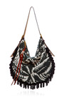 Dark Green Knitted Jacquard Nomad Hobo by MARC JACOBS for Preorder on Moda Operandi