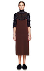 Embroidered Ringer Sweatshirt Short Sleeve Dress by MARC JACOBS for Preorder on Moda Operandi