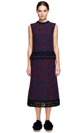 Breadfruit Lightweight Wool Sleeveless Sheath Dress by MARC JACOBS for Preorder on Moda Operandi