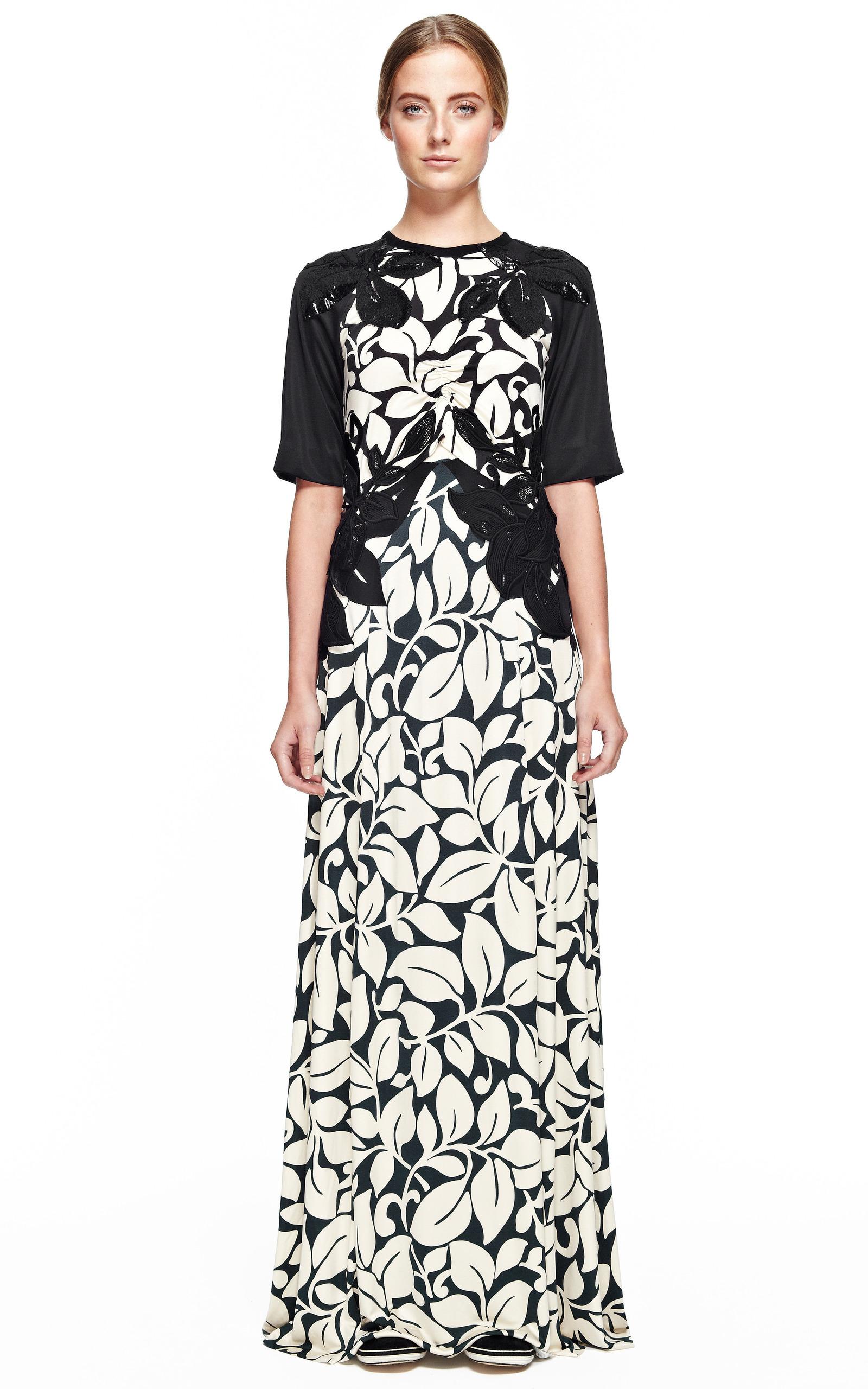 Breadfruit silk jersey short sleeve long t shirt dress for Long sleeve silk shirt dress