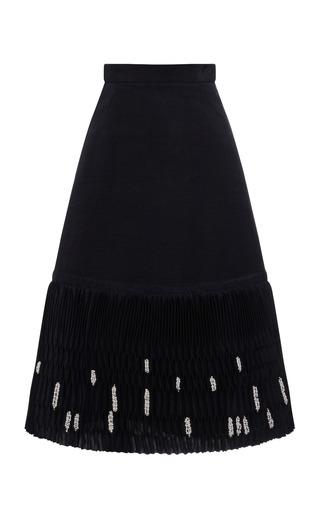 Medium thom browne navy circular base skirt 2