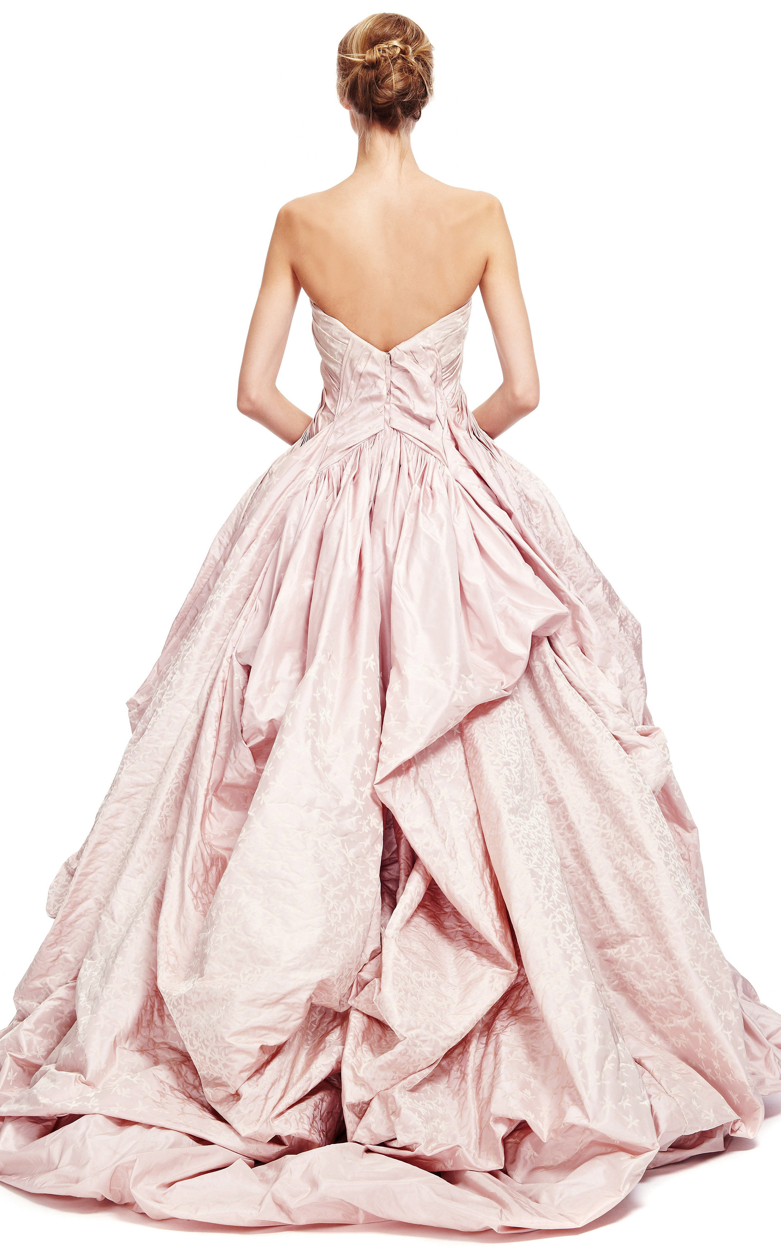 Iris taffeta gown by zac posen moda operandi for Zac posen wedding dresses sale