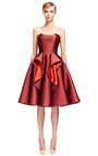 Stretch Duchess Dress by ZAC POSEN for Preorder on Moda Operandi