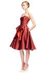 Stretch Duchess Dress by ZAC POSEN for Preorder on Moda Operandi