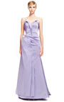 Stretch Duchess Gown by ZAC POSEN for Preorder on Moda Operandi