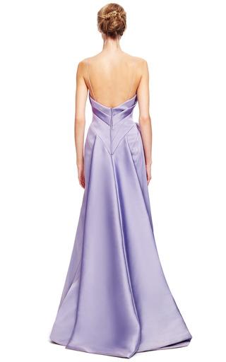 Stretch Duchess Gown by ZAC POSEN for Preorder on Moda Operandi