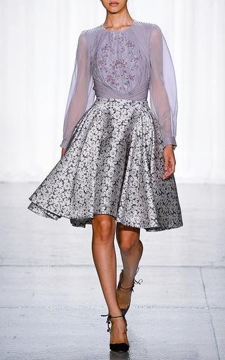French Knot Blouse by ZAC POSEN for Preorder on Moda Operandi