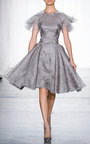 Painted Organza Dress by ZAC POSEN for Preorder on Moda Operandi