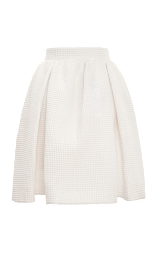 Cooper Cotton Waffle Skirt by MOTHER OF PEARL for Preorder on Moda Operandi