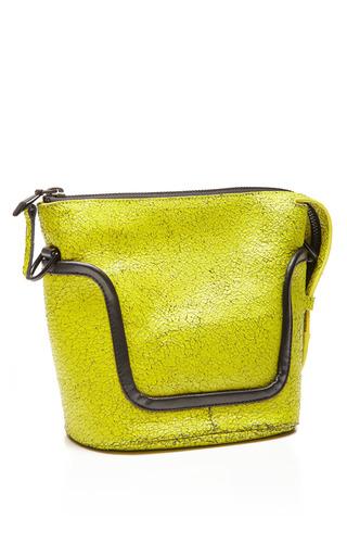 Tetra Crackle Calf Oly Handbag by OPENING CEREMONY for Preorder on Moda Operandi