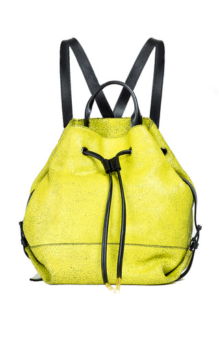 Medium opening ceremony yellow tetra crackle calf izzy backpack
