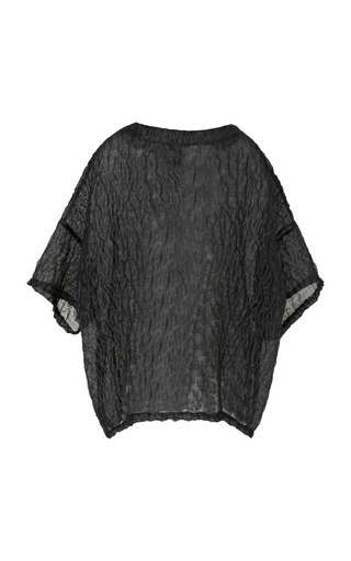 Sand Organza Side Zip T Shirt by OPENING CEREMONY for Preorder on Moda Operandi