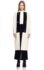 Black Suiting Cropped High Waisted Snap Front Pant by PROENZA SCHOULER for Preorder on Moda Operandi