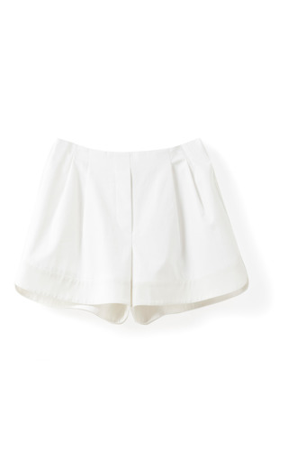 Medium 3 1 phillip lim white short with curved hem band
