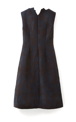 Medium 3 1 phillip lim blue abstract neckline dress with cdc inserts