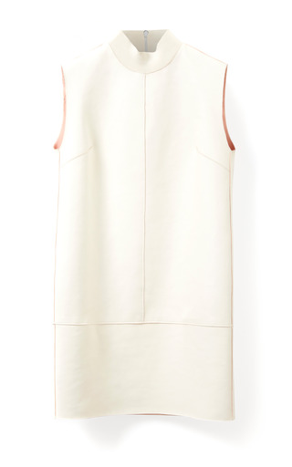 Medium 3 1 phillip lim ivory back fringed shift dress with rib detail