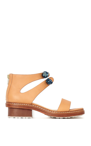 Medium 3 1 phillip lim brown cosmic zip up sandal