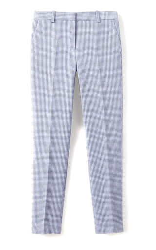 Medium 3 1 phillip lim white grid classic pencil pant