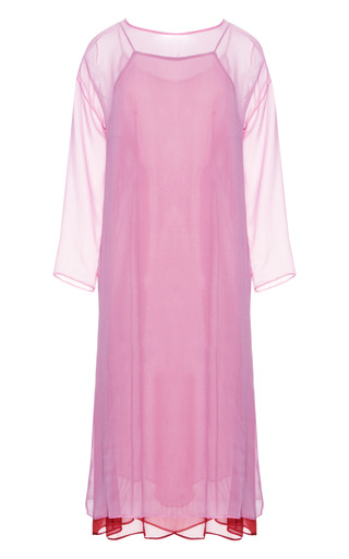 Medium theyskens theory pink berry fimothy dress